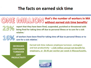 One Million without Sick Time